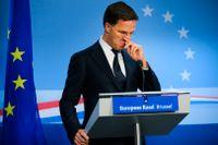 Nederländernas premiärminister Mark Rutte kämpar tillsammans med Sverige, Danmark och Österrike för en så smal EU-budget som möjligt. Arkivfoto.