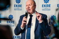 Estlands inrikesminister Mart Helme. Arkivbild.