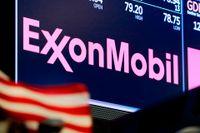 Nettovinsten sjönk under andra kvartalet men oljeproducenten Exxon Mobil överträffade ändå förväntningarna. Arkivbild.