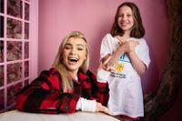 Keyyo och juniorreportern Ellen har minst en sak gemensamt: De älskar humor!