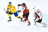 Magnus Pääjärvi och de andra KHL-svenskarna kommer förmodligen att få chansen i Tre Kronor i nästa landslagsturnering i Moskva. Arkivbild.