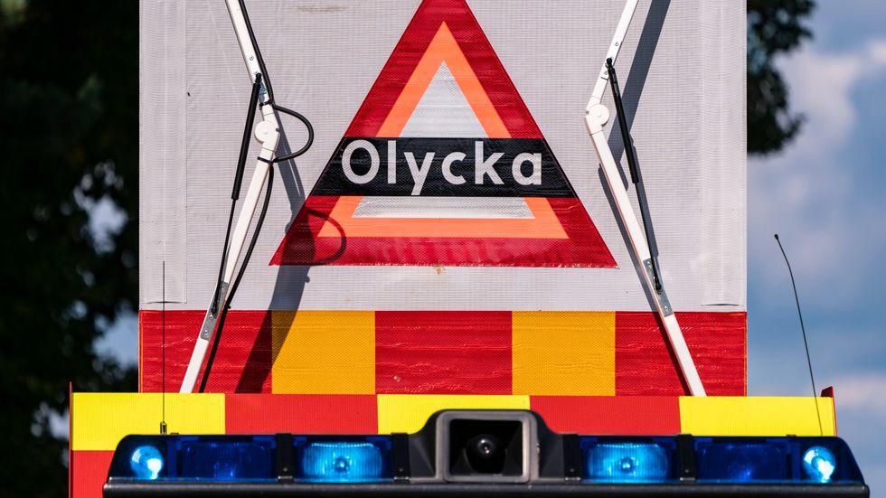 Kraftig rök gör att räddningstjänsten har gått ut med ett VMA i Kalmar. Arkivbild.