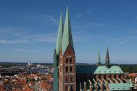 Mariakyrkan i Lübeck.