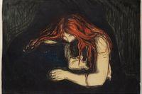 Edvard Munch, Vampyr, 1895.