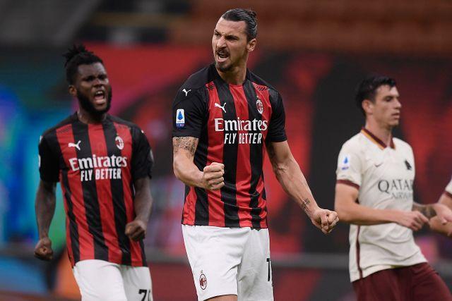 Zlatan Ibrahimovic gör dundersuccé i Milan, men spelar inte i Sveriges landslag.