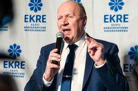 Estlands inrikesminister Mart Helme avgår. Arkivbild.