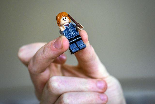 Legogubben som liknar Mauri är en present från Elsa och Lisa.
