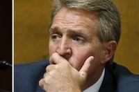 Beslutet om Brett Kavanaughs framtid ligger bland annat i senatorn Jeff Flakes händer.