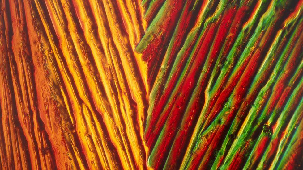"Eric H Olson, ""Kristallstruktur"", 1981. (Bilden är något beskuren.)"
