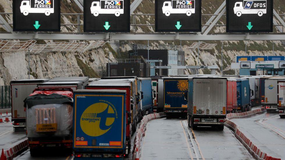 Det råder en akut brist på lastbilschaufförer i EU, varnar branschfolk. Arkivbild