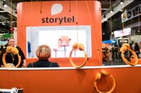 Bokförsäljningen via digitala abonnemangstjänster som Storytel, BookBeat och Nextory ökar. Arkivbild.