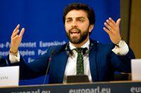 Marco Zanni blir gruppledare för EU-parlamentsgruppen ID, som bland andra samlar italienska Lega, tyska AFD och franska Nationell samling.