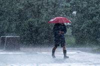 Paraply kan vara bra att ha med sig om man befinner sig i Skåne. Arkivbild.