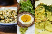 Gubbröra, scotch eggs och laxpudding – tre klassiker inom räckhåll. Följ bara Ingrid Erikssons enkla recept.