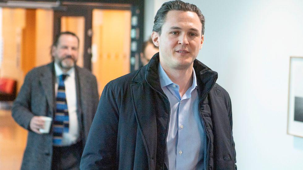 Allras tidigare vd Alexander Ernstberger dömdes i hovrätten till sex års fängelse och näringsförbud. Arkivbild.