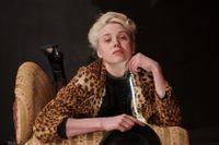Hanna Nygårds som Frida Uhl på Strindbergs Intima teater.