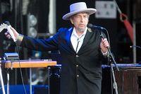Artisten och Nobelpristagaren Bob Dylan nekar till anklagelser om övergrepp. Arkivbild.