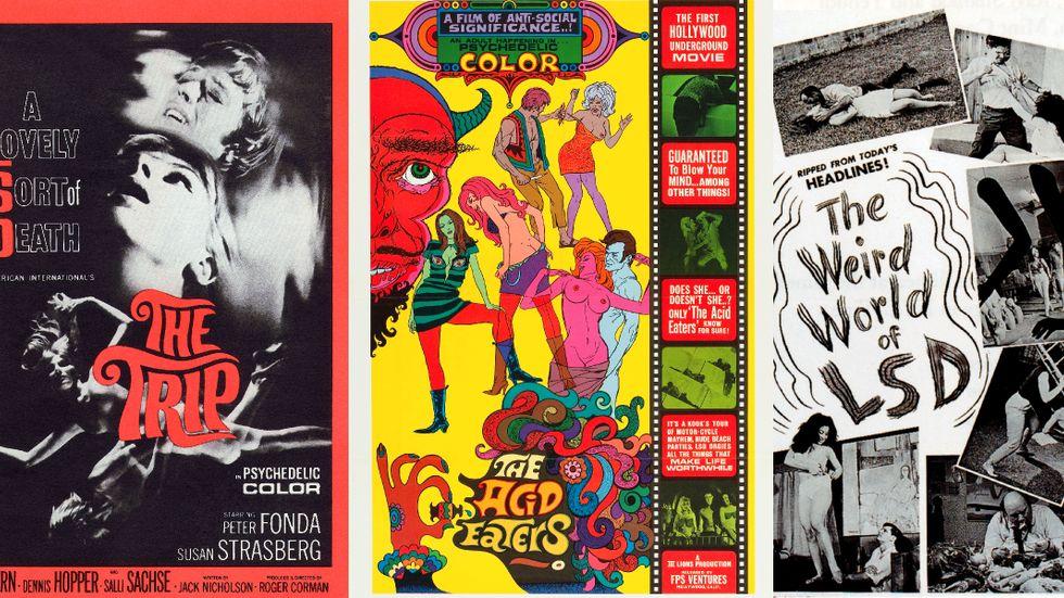 Flera filmer, ofta mycket spekulativa, gjordes om LSD i slutet av 1960-talet.