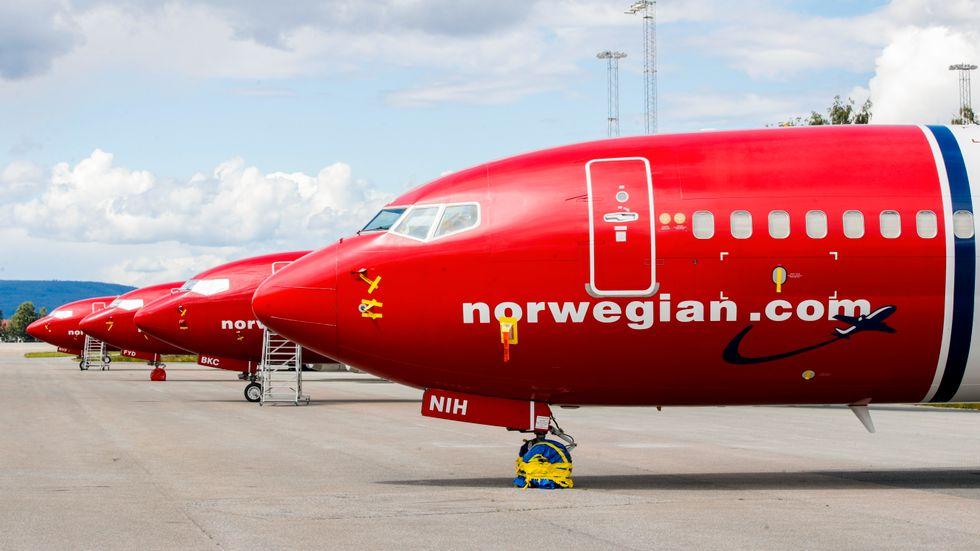 Norwegian har avvecklat ett av sin dotterbolag. Arkivbild.