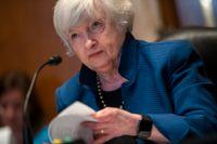 USA:s finansminister Janet Yellen kan behöva övertyga sina G20-kollegor att hon kan få stöd för en global minimiskatt på bolag i USA:s kongress. Arkivbild
