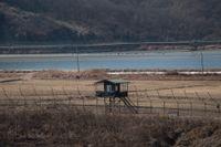 Demilitariserade zonen mellan Nord- och Sydkorea.
