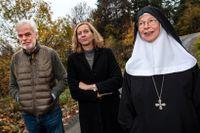 Carl Piper, Anita Ullmann och syster Christa Claesson utgör kärnan i nätverket Vetonu. Arkivbild.