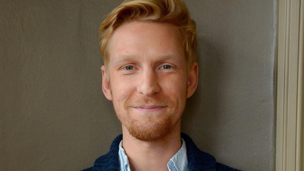 Anton Lundqvist har tilldelats Såstaholmspriset på 50000 kronor, samt får möjligheten att inreda ett rum på hotellet. Arkivbild.