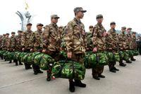 Kinesiska soldater.