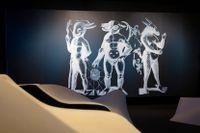 """""""Hyper human"""" på Tekniska museet är visuellt anslående och ger besökaren många tankar om framtiden."""