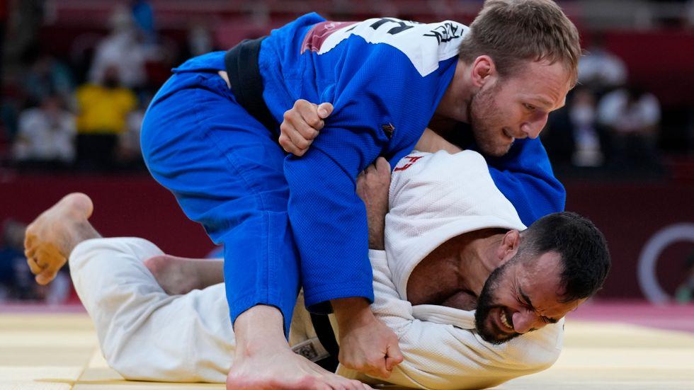 Robin Pacek har gjort sitt i OS.