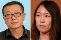 Kommunistpartiet betraktar sf som ett verktyg för att intressera ungdomar för tekniska utbildningar. Ovan stjärnskotten Liu Cixin och Hao Jingfang.