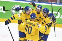 Skoda, en av huvudsponsorerna till ishockey-VM, tänker hoppa av som partner till turneringen om Belarus får behålla arrangörskapet 2021. Arkivbild.