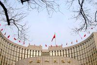 Kinas folkbank i Peking.
