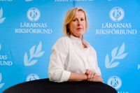 Åsa Fahlén, ordförande för Lärarnas Riksförbund, är inte nöjd med regeringens pandemisatsning på skolan. Arkivbild.
