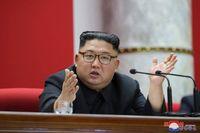 Nordkoreas ledare Kim Jong-Un. Bilden kommer från den statliga nyhetsbyrån KCNA. Arkivbild.