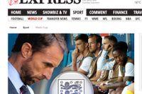 Englands förbundskapten Gareth Southgate kritiseras för sin kalkylerade laguttagning.