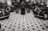 Ostermans marmorhallar på 1930-talet.