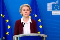EU-kommissionens ordförande Ursula von der Leyen drar igång formella klagomål mot hur Ungern och Polen hanterar hbtq-rättigheter. Arkivfoto.