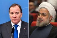 Sveriges statsminister Stefan Löfven (S) och Irans president Hassan Rohani ska mötas i Teheran.