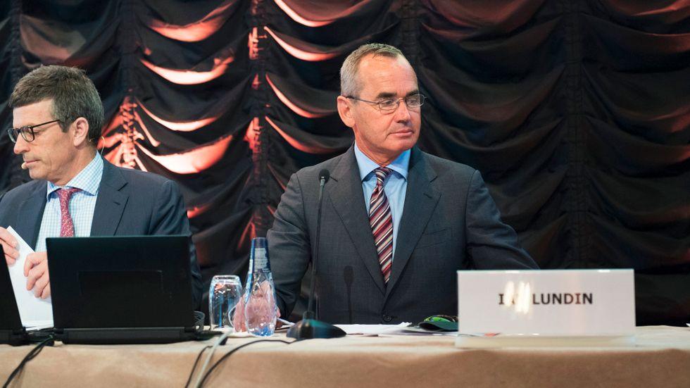 Lundin Petroleums vd Alex Schneiter och styrelseordförande Ian Lundin misstänks för medhjälp till krigsbrott. Arkivbild.