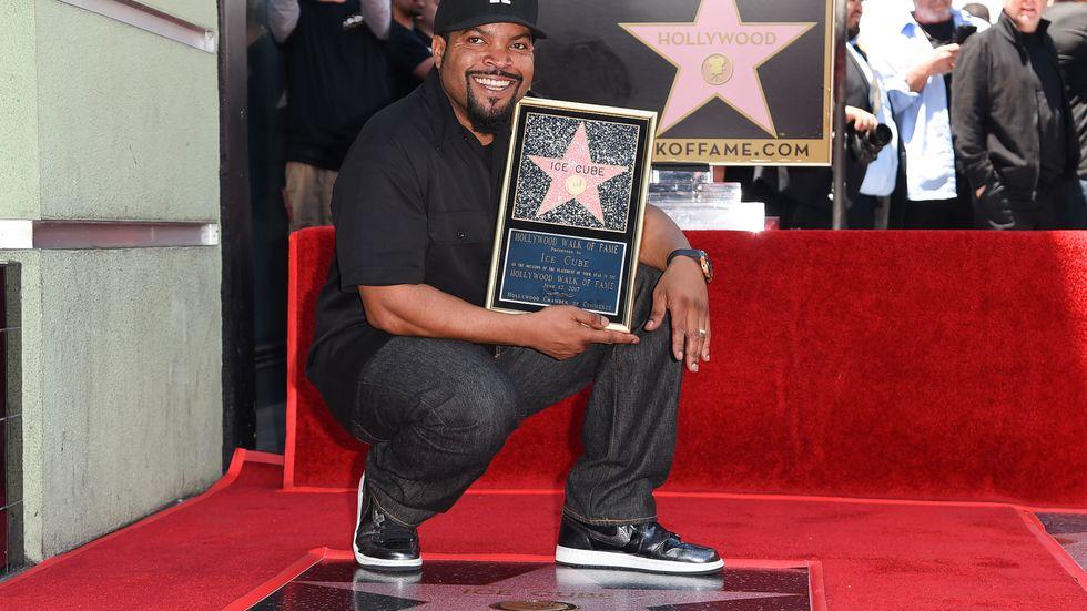 O'Shea Jackson Sr, mer känd som Ice Cube, har fått en Hollywood-stjärna.