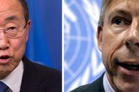 Ban Ki-Moon och Anders Kompass.