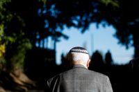 Antisemitiska brott ökade med 20 procent i fjol, vilket oroar tyska regeringen. Arkivbild.