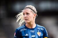 Djurgården och Olivia Schough tappade 3–0 till 3–3 hemma mot Kristianstad.