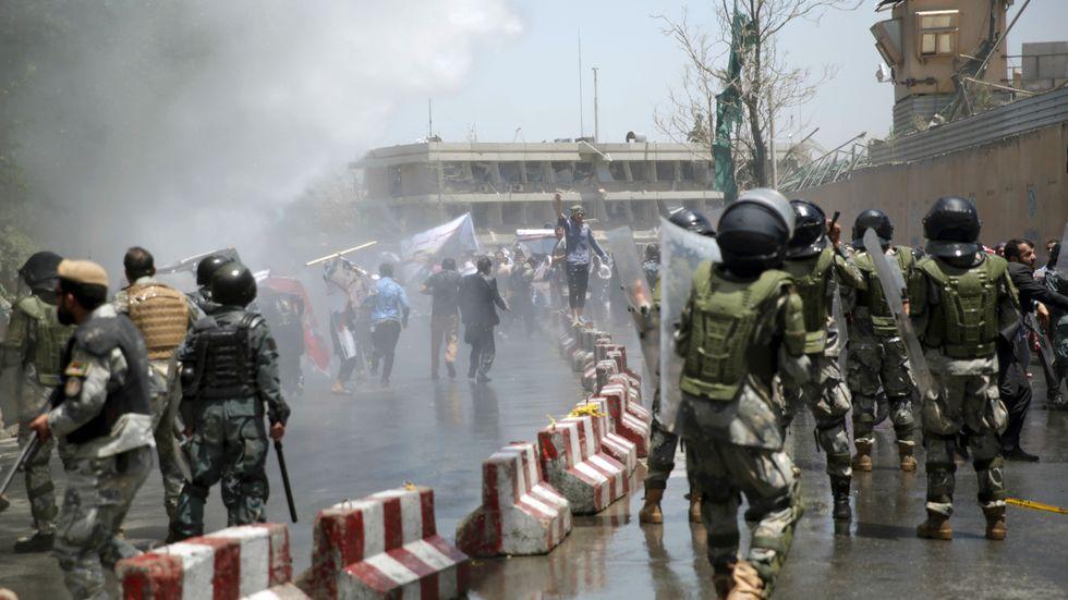 Protesterna mot bristande säkerhet har varit starka i Kabul efter förra veckans terrordåd.