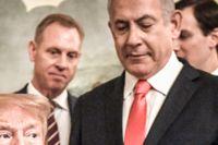 USA:s president Donald Trump och Israels premiärminister Benjamin Netanyahu.
