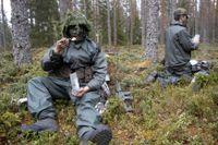 Försvarets rekrytering av fast anställd personal granskas nu av Riksrevisionen. Arkivbild.