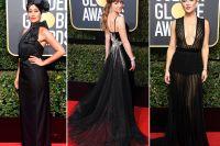 Modehöjdpunkterna från Golden Globe