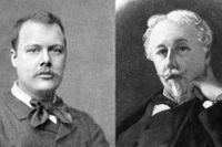 Houston Stewart Chamberlain (1855–1927) och Arthur de Gobineau (1816–1882).