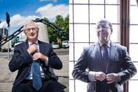 Sverker Martin-Löf, ordförande i SCA och Industrivärden, och Anders Nyrén, vd för Industrivärden.